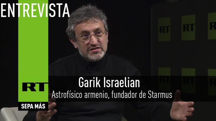 2016-02-04 - Entrevista con Garik Israelian, astrofísico armenio, fundador de Starmus