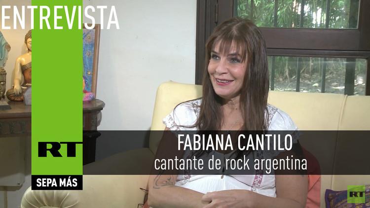 2016-02-23 - Entrevista con Fabiana Cantilo, cantante de rock argentina