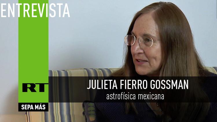 2016-03-08 - Una astrofísica mexicana explica cuán real es la posibilidad de viajar al pasado
