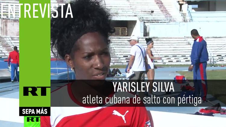 2016-03-28 - Entrevista con Yarisley Silva, atleta cubana de salto con pértiga