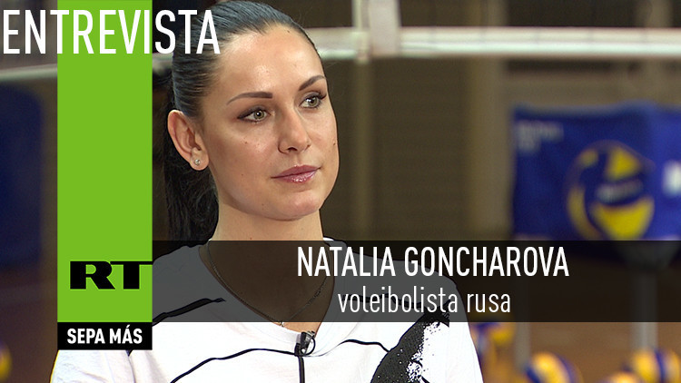 2016-04-04 - Entrevista con Natalia Goncharova, voleibolista rusa