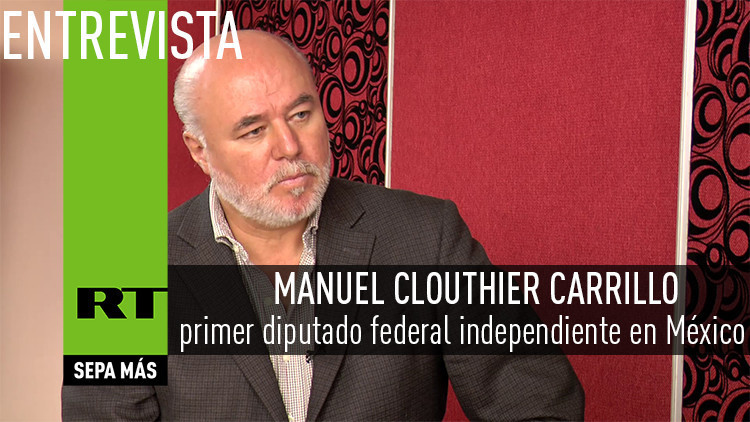 2016-04-05 - Entrevista con Manuel Clouthier Carrillo, primer diputado federal independiente en México