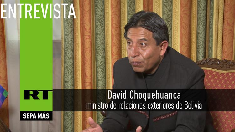 2016-04-13 - David Choquehuanca, canciller de Bolivia: