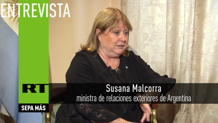 2016-04-13 - Ministra de relaciones exteriores de Argentina: