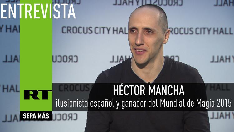 2016-04-23 - Entrevista con Héctor Mancha, ilusionista español y ganador del Mundial de Magia 2015