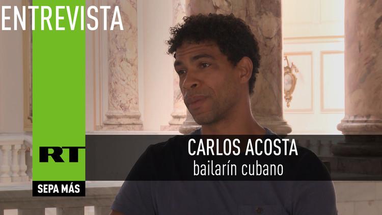 2016-05-05 - Entrevista con Carlos Acosta, bailarín cubano