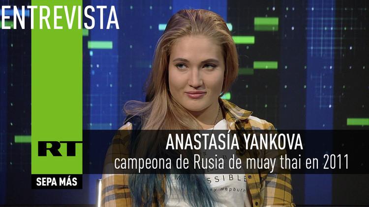 2016-05-16 - Entrevista con Anastasía Yankova, luchadora rusa de MMA