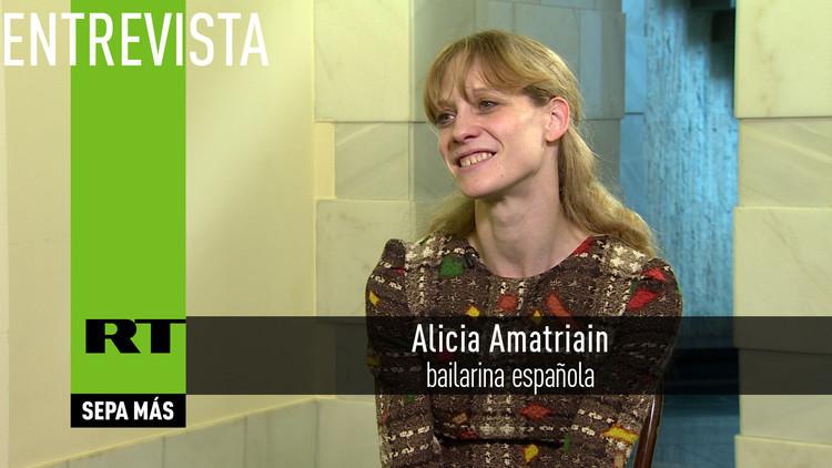 2016-05-26 - Entrevista con Alicia Amatriain, bailarina española