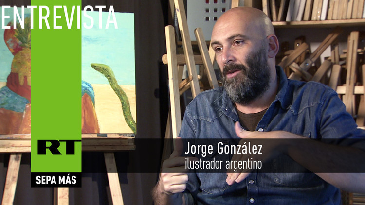 2016-06-11 - Entrevista con Jorge González, ilustrador argentino