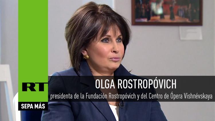2016-06-18 - Entrevista con Olga Rostropóvich, presidenta del Centro de Ópera Vishnévskaya
