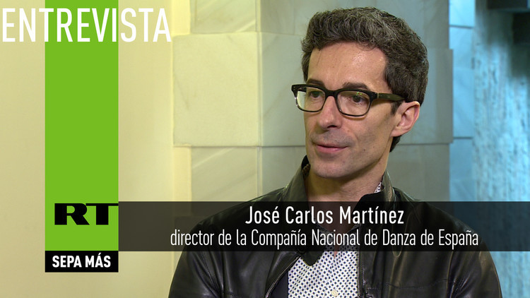 2016-06-25 - Entrevista con José Carlos Martínez, director de la Compañía Nacional de Danza de España