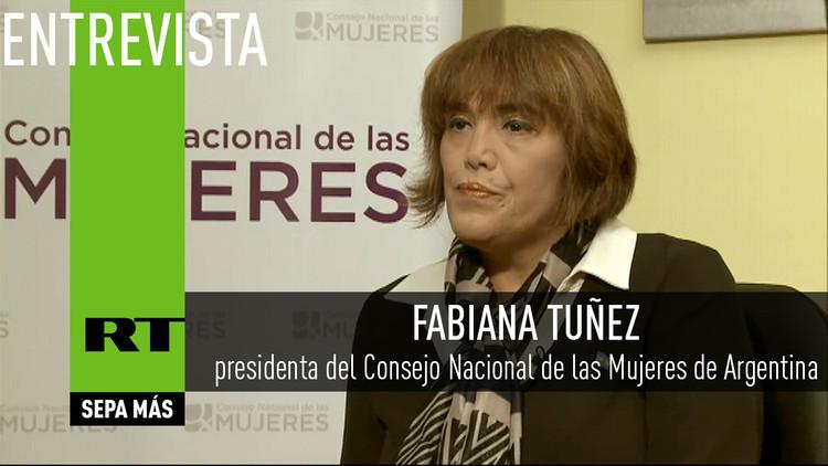 2016-06-28 - Entrevista con Fabiana Tuñez, presidenta del Consejo Nacional de las Mujeres de Argentina