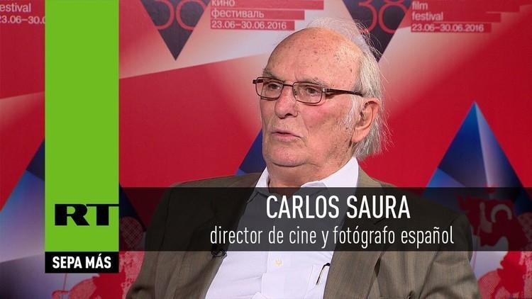 2016-06-30 - Entrevista con Carlos Saura, director de cine y fotógrafo español