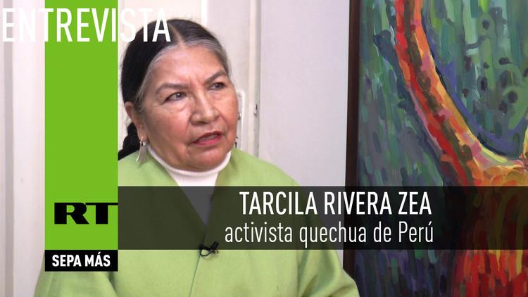 2016-07-16 - Tarcila Rivera Zea, activista quechua de Perú