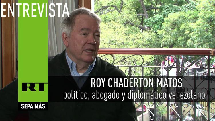 2016-07-25 - Entrevista con Roy Chaderton Matos, político, abogado y diplomático venezolano