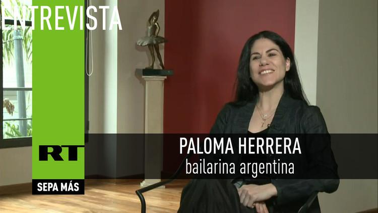 2016-07-26 - Entrevista con Paloma Herrera, bailarina argentina