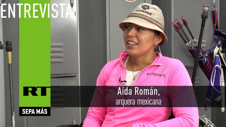2016-08-06 - Entrevista con Aída Román, arquera mexicana