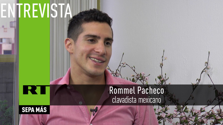 2016-08-15 - Entrevista con Rommel Pacheco, clavadista mexicano