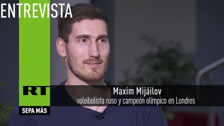 2016-08-17 - Entrevista con Maxim Mijáilov, voleibolista ruso y campeón olímpico en Londres