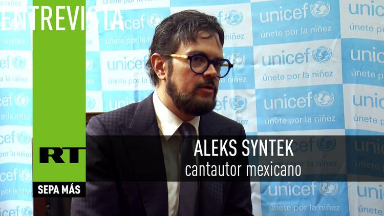 2016-09-05 - Entrevista con Aleks Syntek,cantautor mexicano