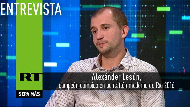 2016-09-27 - Entrevista con Alexánder Lesún, campeón olímpico en pentatlón moderno de Río 2016