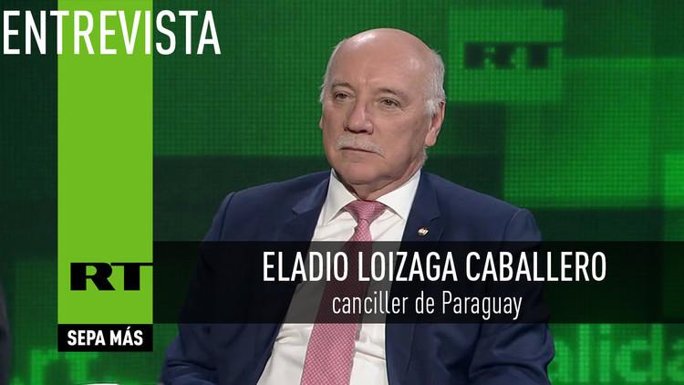 2016-10-20 - Entrevista con Eladio Loizaga Caballero, canciller de Paraguay