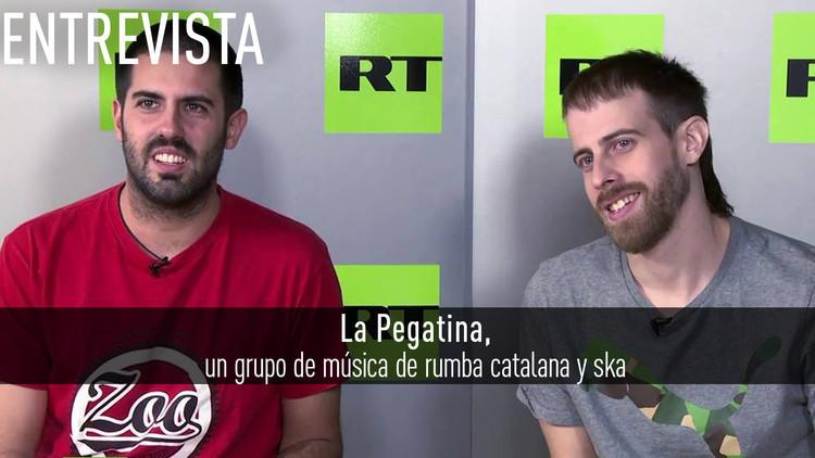 2016-11-22 - Entrevista con La Pegatina, banda española