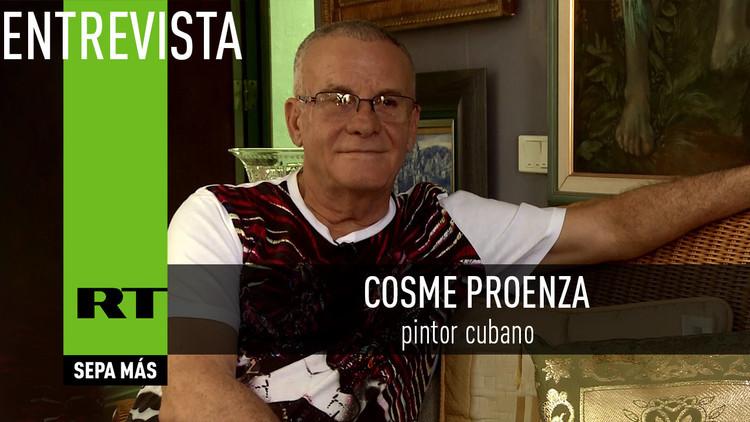 2017-01-14 - Entrevista con Cosme Proenza, pintor cubano