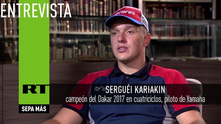 2017-02-27 - El piloto ruso Serguéi Kariakin: