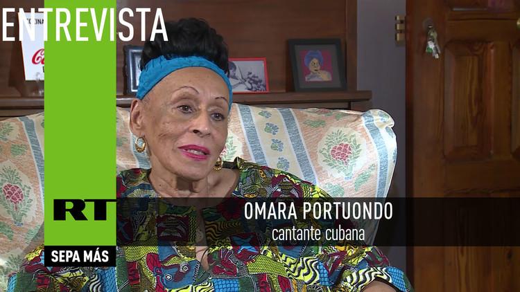 2017-03-02 - Entrevista con Omara Portuondo, cantante cubana