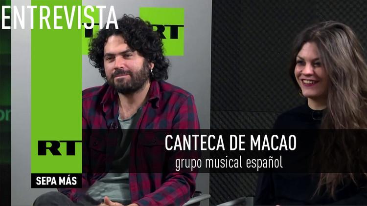 2017-04-03 - Entrevista con Canteca de Macao, grupo musical español