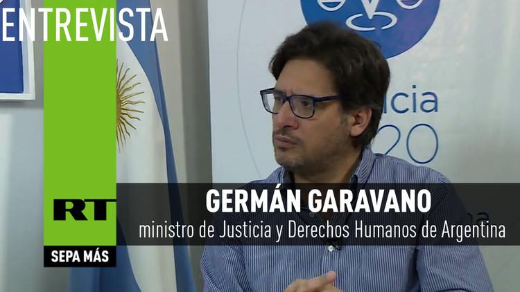 """2017-05-18 - Germán Garavano: """"En Argentina tenemos una justicia independiente, pero no todos los jueces lo son"""