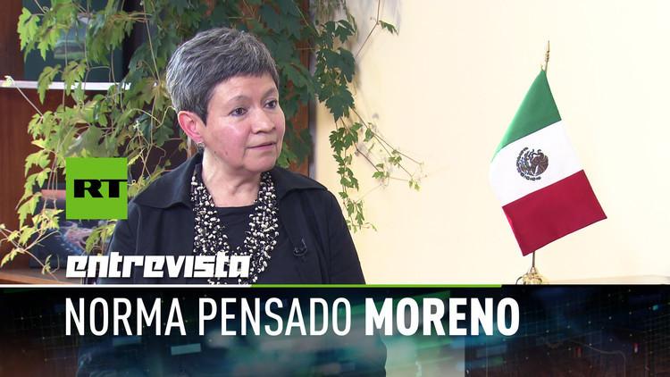 2017-08-29 - Embajadora de México en Rusia: