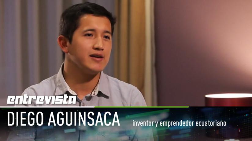 """2018-03-05 - Inventor ecuatoriano: """"La robótica debería facilitar la vida de las personas con discapacidades"""""""