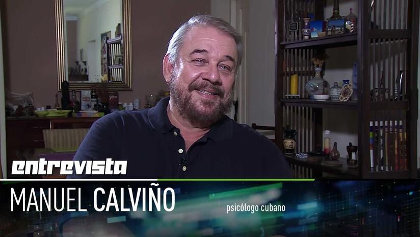 2018-05-26 - El reconocido psicólogo cubano Manuel Calviño comparte su receta de la felicidad