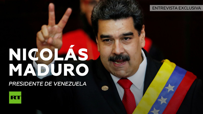 2019-02-05 - Nicolás Maduro concede una entrevista exclusiva a RT en medio del desafío del líder opositor Juan Guaidó