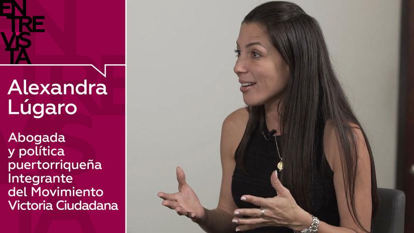 2019-03-28 - Política puertorriqueña Alexandra Lúgaro: