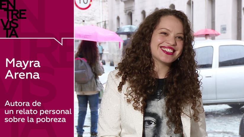 2019-04-02 - '¿Qué tienen los pobres en la cabeza?': La argentina Mayra Arena explica la idea que conmocionó a América Latina
