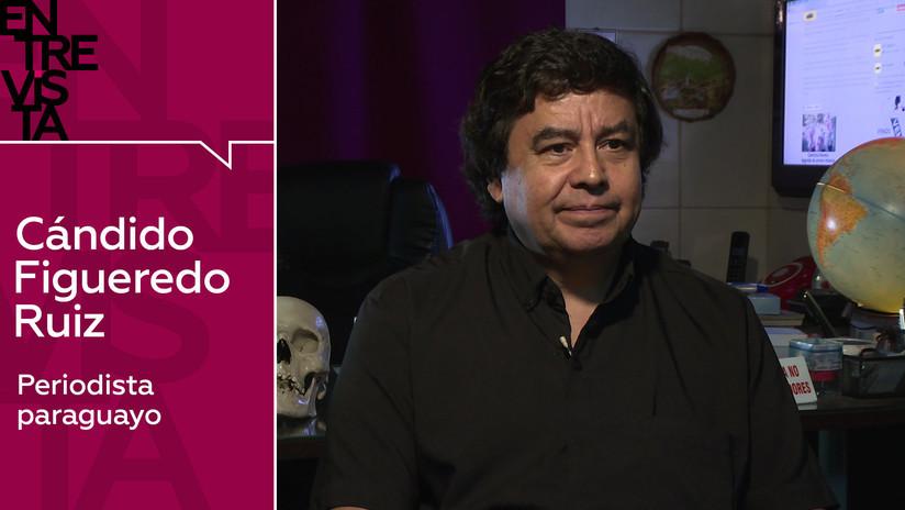 2019-05-13 - El periodista paraguayo Cándido Figueredo Ruiz: