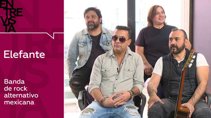2019-05-20 - Elefante, banda de rock mexicana: