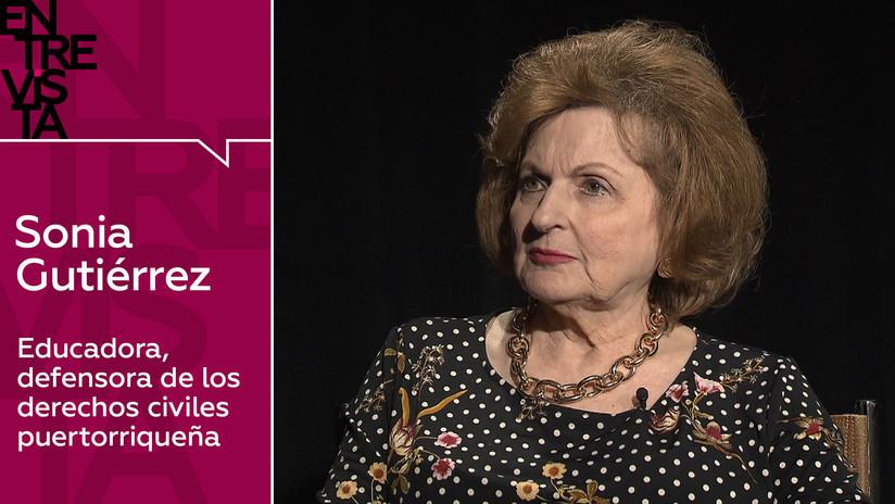 2019-05-23 - La educadora y activista puertorriqueña Sonia Gutiérrez:
