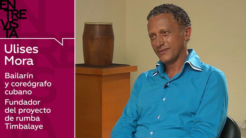 2019-05-25 - Bailarín y coreógrafo cubano Ulises Mora: