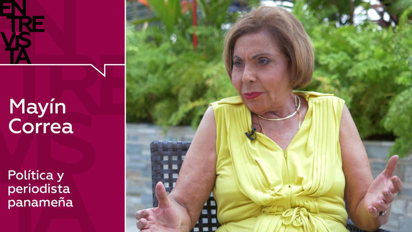 2019-05-30 - Política y periodista panameña Mayín Correa: