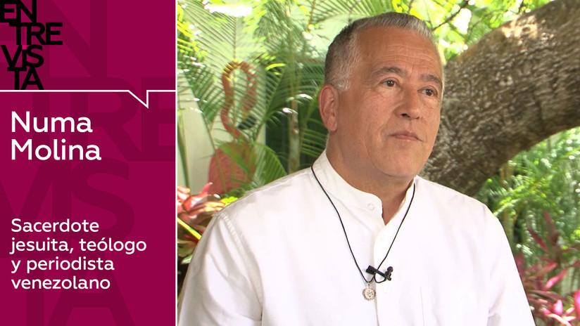 2019-07-04 - Teólogo y periodista venezolano Numa Molina: