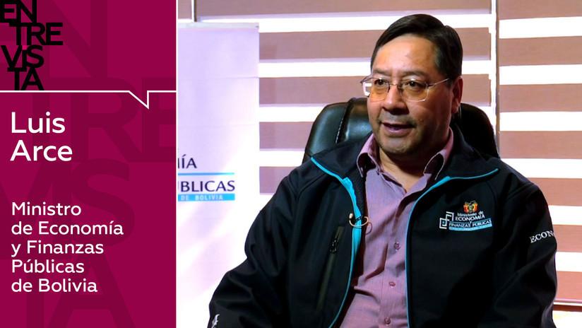 2019-09-23 - Luis Arce, ministro de Economía y Finanzas Públicas de Bolivia: