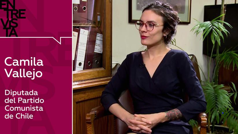 2019-11-23 - Diputada chilena Camila Vallejo: