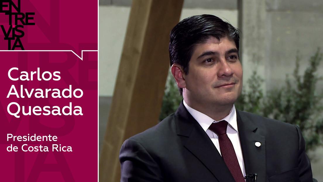 2019-12-09 - Carlos Alvarado Quesada, presidente de Costa Rica: