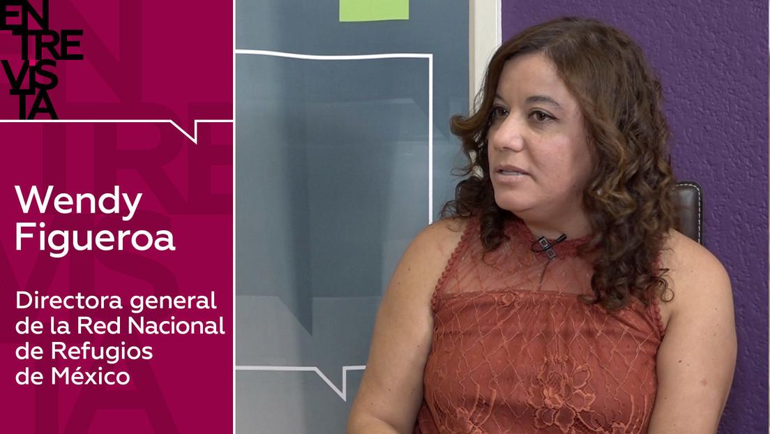 2020-01-14 - Wendy Figueroa, directora de la Red Nacional de Refugios: