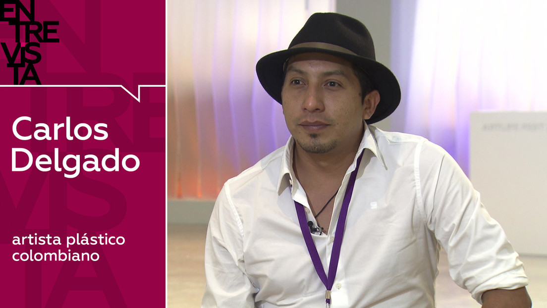 2020-01-25 - Carlos Delgado, artista plástico colombiano: