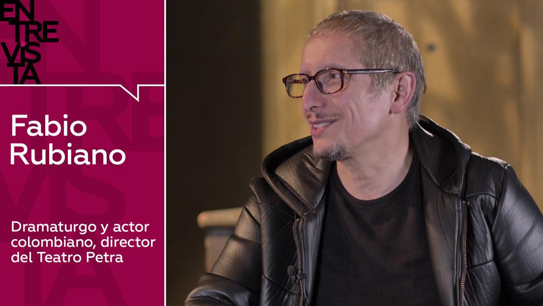 2020-02-03 - Dramaturgo y actor colombiano Fabio Rubiano: